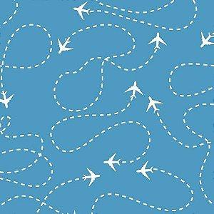Tricoline Voando 50cm x 1.50m largura