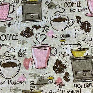 Tricoline COFFE 50cm x 1.50m largura
