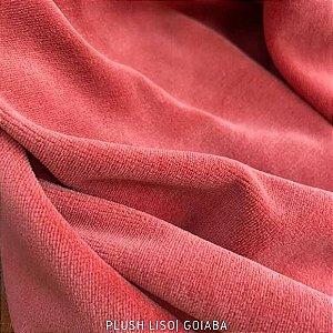 Plush Goiaba Mogno Tecido Aveludado 1.70m de Largura