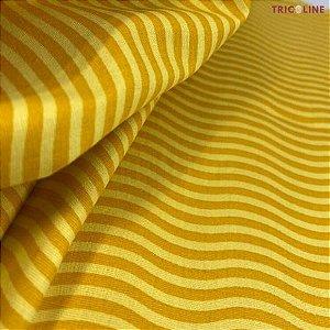 Tricoline Ondas Amarelo 50cmX1,40m
