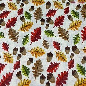 Tricoline Flores Outono 50cmX1,40m