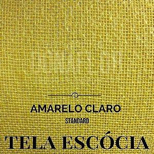 Tela Escócia Amarelo tecido engomado, embalagens e decorações