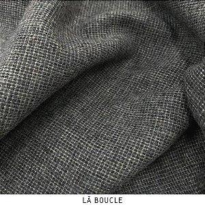 Lã Boucle Chumbo tecido quente para Roupas em Geral