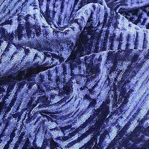 Veludo Canelado Roxo tecido com Brilho, Leve e Confortável