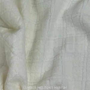 Melton Lumber Marfim tecido Macio, Absorvente e não Desfia