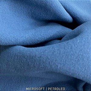 Microsoft Azul Petróleo tecido Macio e Hipoalérgico