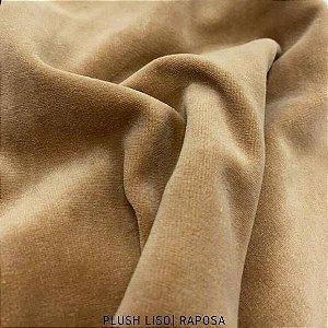 Plush Raposa tecido toque Aveludado e Leve Brilho