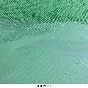 Filó Armação Verde tecido para Saias, Decoração e Embalagens