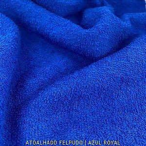 Atoalhado Felpudo Azul Royal 100% Algodão tecido Felpado firme