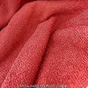 Atoalhado Felpudo Coral 100% Algodão tecido Felpado firme