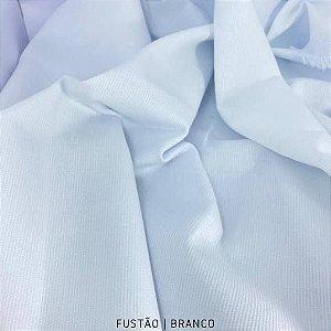 Fustão Branco tecido 100% Algodão com texturas