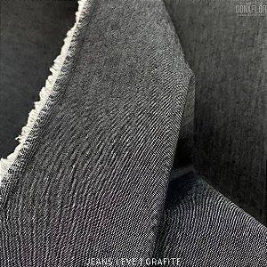 Jeans Leve Grafite tecido 100% Algodão - 1.40Largura