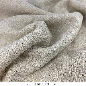Linho vitral tecido fibras Naturais para Roupas, Costura Criativa