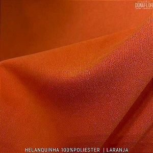 Helanquinha Laranja tecido Elasticidade para Roupas e Decorações - 1,80Largura