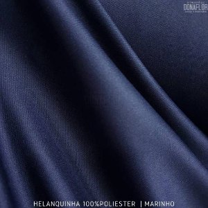 Helanquinha Marinho tecido Elasticidade para Roupas e Decorações - 1,80Largura