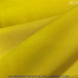Helanquinha Amarelo Ouro tecido Elasticidade para Roupas e Decorações - 1,80Largura