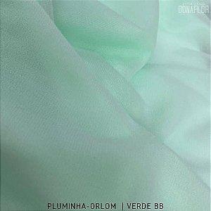 Pluminha Orlon, Verde Bebê tecido Malha Felpuda para Costura Criativa