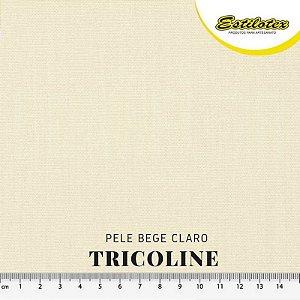 Tricoline Estilotex Pele Bege Claro tecido 100% Algodão 60fios