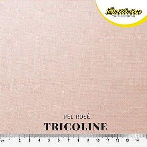 Tricoline Estilotex Pele Rosê tecido 100% Algodão 60fios