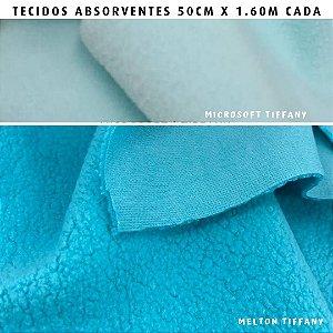 Melton e Microsoft Tifany tecidos Absorventes, Artesanato