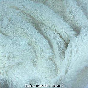 Pelúcia Baby Soft Branca 50cm x 1,50m
