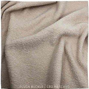 Buckle Plush Cru Mascavo 50cmx1,50m