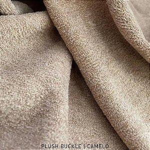 Buckle Plush Camelo tecido Flanelado e Felpudo por Fora 50cmx1,50m