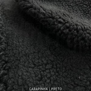 Carapinha Preto 50cmx1,50m