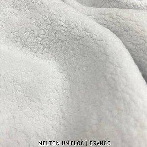 Melton - Unifloc Branco | 50cm x 1,60m