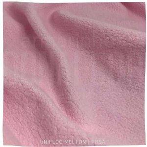 Unifloc - Melton Rosa bebê | 50cm x 1,60M