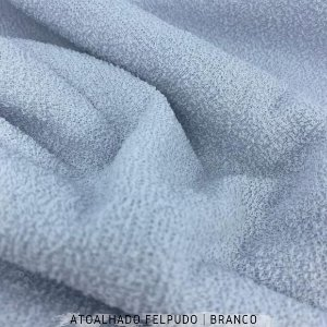Atoalhado Felpudo Branco 50cmx1,40m