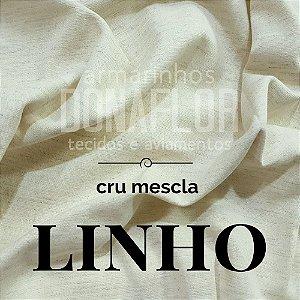 Linho Cru Mescla 50cm x 1,50m