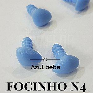 Focinho N4 2cm Cores