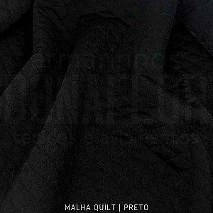Quilt Preto 50cm x 1,50m
