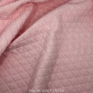 Quilt Rosa Bebê 50cm x 1,50m