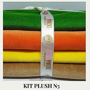 Kit Plush N5 4tecidos  30x85cm