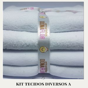 Kit Tecidos Diversos A 4tecidos