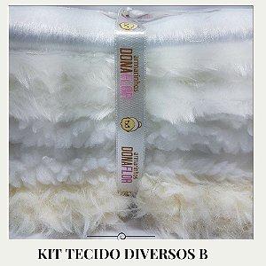 Kit Tecidos Diversos B 4tecidos