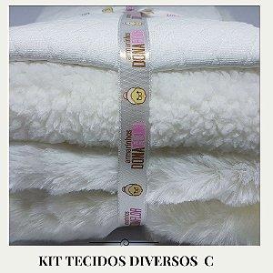 Kit Tecidos Diversos C 4tecidos