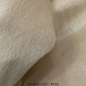 Velboa Bege  50cm x 1,50m