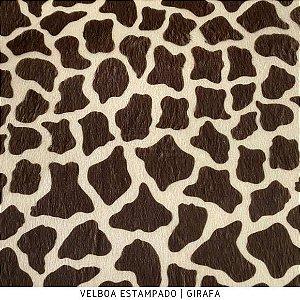 Velboa Estampado Girafa  50cm x 1,50m