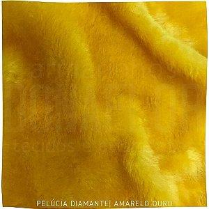 Pelúcia Diamante Amarelo Ouro 50cm x 1,60m