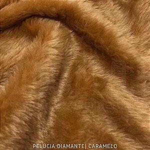 Pelúcia Diamante Caramelo 50cm x 1,60m