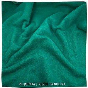 Pluminha Verde Bandeira 50cm x 1,40m