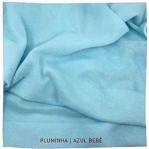 Pluminha Azul bebê  50cm x 1,40m