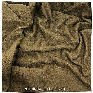 Pluminha Café Claro 50cm x 1,40m