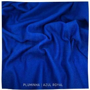 Pluminha Azul Royal 50cm x 1,40m