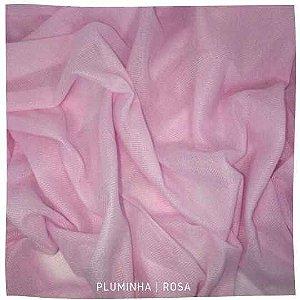 Pluminha Rosa bebê 50x1,40M
