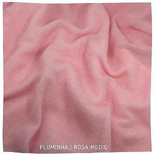 Pluminha Rosa Médio 50cm x 1,40m