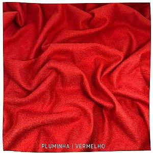 Pluminha Vermelho 50cmx1,40m